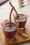 Crèmes chocolat réglisse