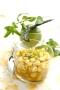 Tartare d'ananas au citron vert