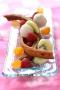 Dessert choco fruits