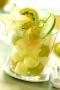 Salade de fruits toute verte