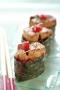Sushi de foie gras à la framboise