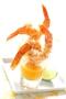 Verrines de crevettes pimentées à la mangue